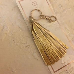 Melody Accessories - Tasseled Clip On LOT Purse Fob Key Ring Hang Tags